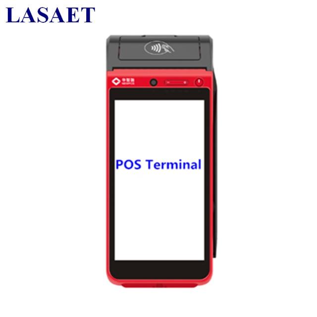 Ручной Android Мобильный терминал POS с карт памяти и NFC читатель встроенный Термальность принтера