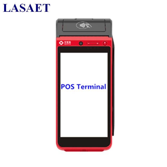 De poche Android Mobile POS Terminal avec Fente Pour Carte et NFC Lecteur Intégré Imprimante Thermique