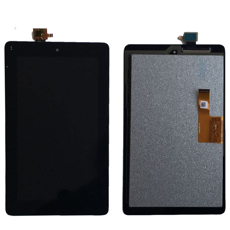 ФОТО Black LCD Glass Display Touch Screen Digitizer Assembly For Amazon Kindle Fire 2015 HD5 SV98L