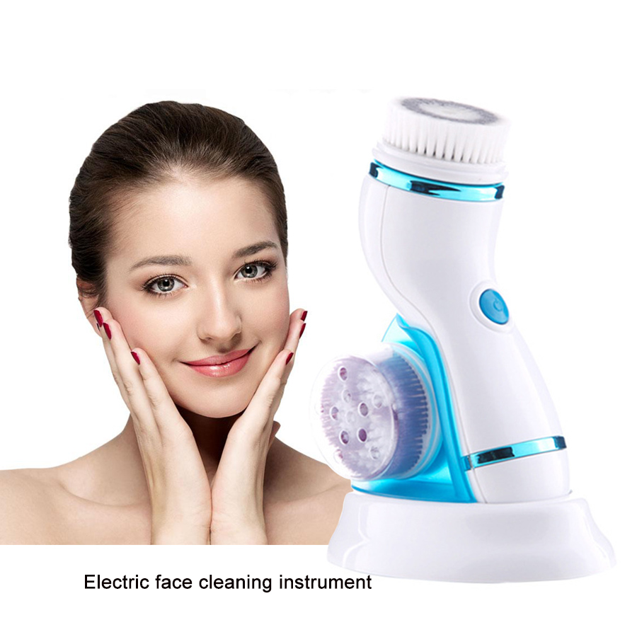 Rechargeable Facial Cleanser Electric face brush Blackhead Removal Pore Cleaner Multifunctional Cleansing instrument beauty care gustala electric face cleaning machine acne blackhead removal device facial cleansing devices beauty instrument