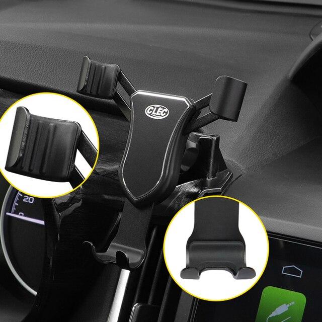 左ハンドルドライブスバルフォレスター 2019 2020 ダッシュボードマウントカーマウント携帯電話ホルダー車で調整可能な自動車電話ホルダー