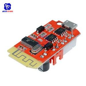 Image 4 - Diymore DC 3.7V 5V 3W דיגיטלי אודיו מגבר צלחת כפולה Bluetooth רמקול שינוי קול מוסיקה מודול מיקרו USB