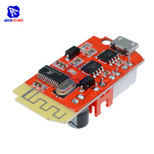 Image 4 - Плата цифрового усилителя звука diymore DC 3,7 в 5 в 3 Вт, двойная плата, Bluetooth динамик, модификация звукового музыкального модуля Micro USB