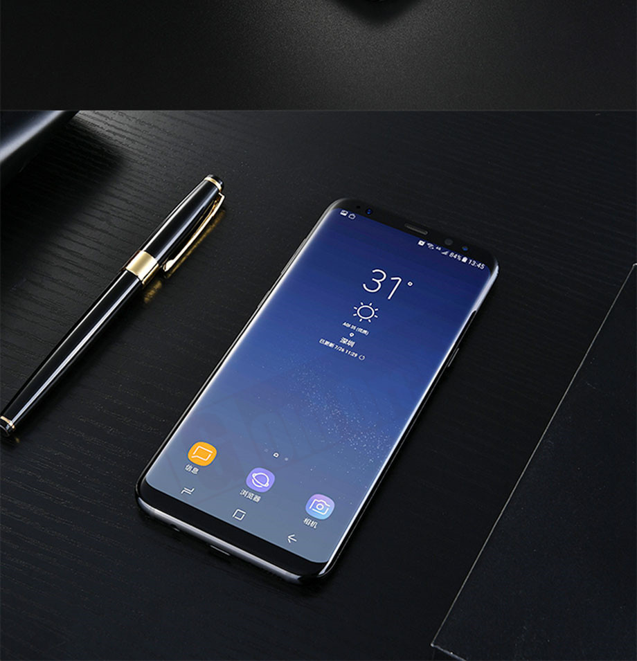 14-PC-For Samsung Galaxy S8 Tempered Glass
