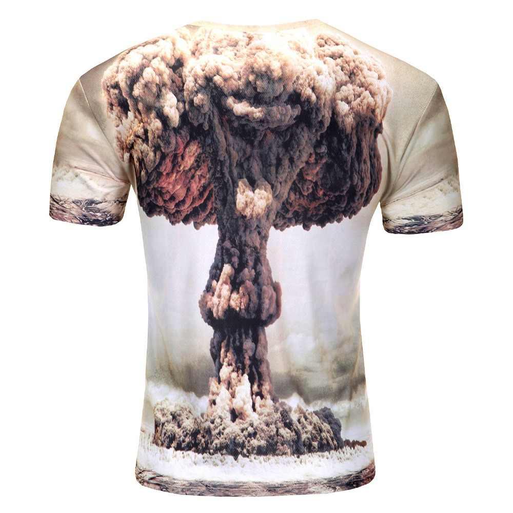 2018 модная новая крутая футболка для мужчин Harajuku 3D Футболка с принтом суицида клоуна с коротким рукавом летние футболки 3D Футболка мужская футболка