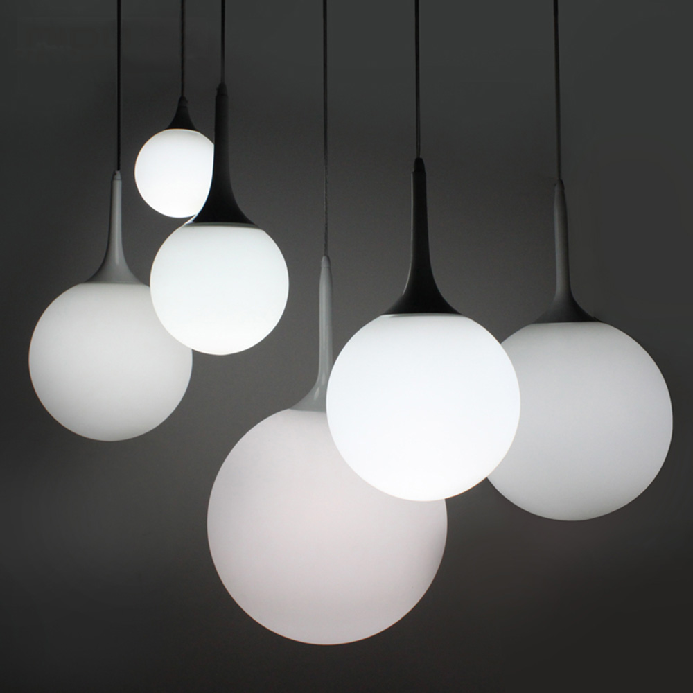 Led Modern Design Pendant Lighting 110-220v Glassdining Room Pendant Light E14 Living Room Luminarias цена