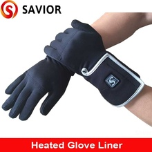 Savior heated glove liner for winter season,outdoor sports,ski, biking, riding,hunting,golf,warmth,christmas gift,women size s05