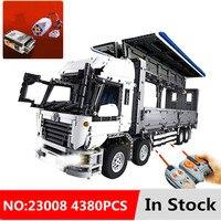 4380pcs New legoing Technic Series The MOC Wing Body Truck diy Building Blocks Bricks Educational Toys for Children kids Gift