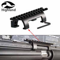Hunting Accessories Mp5, Mk5,hk, G3,gsg5 Claw Scope Mount For 20mm Picatinny/Weaver Rail Shooting Bipod