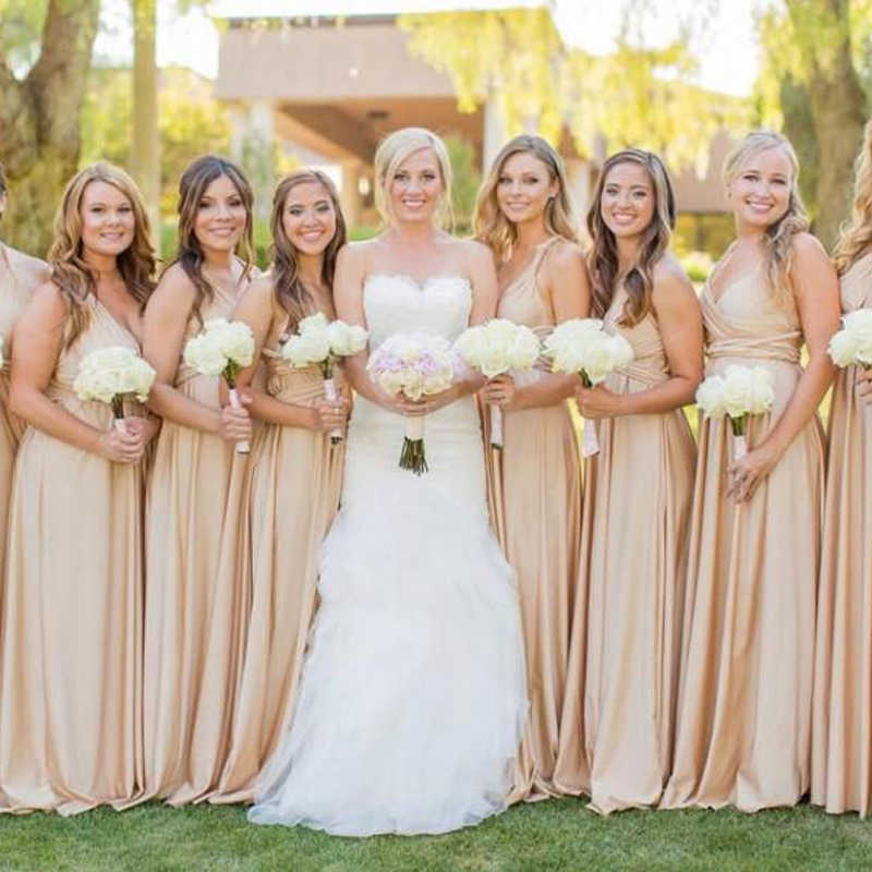 Bridesmaid Dress Multiway Long Dress