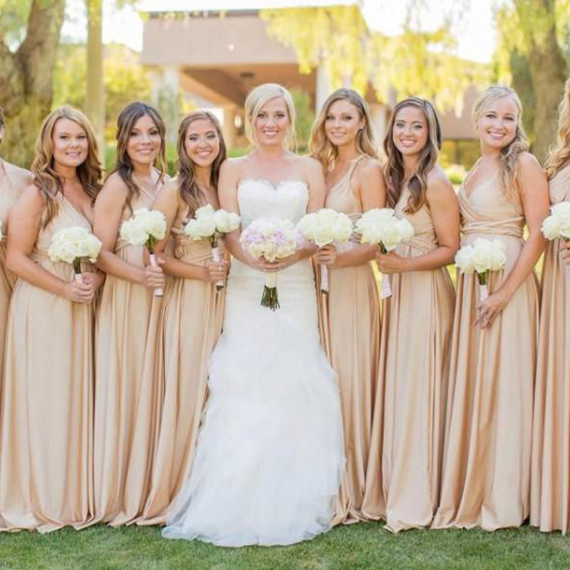 Aliexpress.com : Buy Champagne Bridesmaid