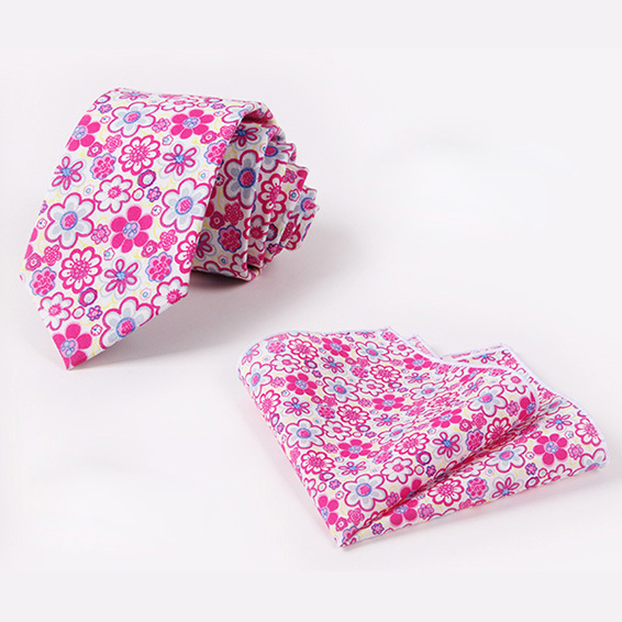 Отдых господа тонкий галстук для мужчин свадьба галстуки мужской цветок печати kravat гент розовый цветочный галстук платок mariage шеи галстук