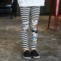 Four Different Styles Girls Cartoon Leggings 2016 Spring/Autumn Elastic Leggings Children Long Trousers 5-15Y Kid legging
