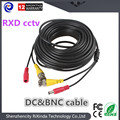20 m Cable de Extensión Plug and play CCTV Video Cable De Alimentación Cable BNC RCA CCTV Accesorios de La Cámara de Vigilancia de Seguridad DVR Kit