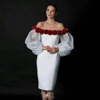 HIGH QUALITY Newest Fashion 2016 Designer Runway Dress Women S Slash Neck Off The Shoulder Lantern