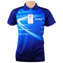 Oryginalna Joola tenis stołowy Odzież dla mężczyzn kobiety Odzież T-SHIRT Koszulka z krótkim rękawem ping pong Jersey Sport koszulki tanie tanio Unisex Pasuje do rozmiaru Weź swój normalny rozmiar