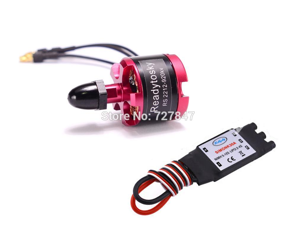 2212 920KV Brushless Motor CW / CCW + 30a simonk brushless ESC for F450 F550 S550 F550 Quadcopter Frame 4x emax mt2213 935kv 2212 brushless motor for dji f450 x525 quadcopter multirotor