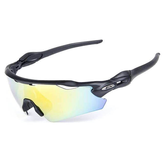 TZQ Loisirs Miroir Lunettes De Soleil Polarisées Wind Goggles Coloré Mode Cyclisme Miroir,A