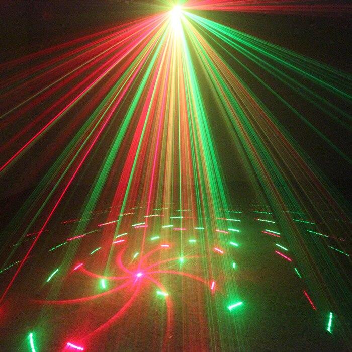 Chims DJ Laser 3 Lens 12 Pattern Club RG Laser BLUE LED Stage Lighting Home Music Party Professional Projector DJ Light Disco 60w led stage lighting laser projector professional dance party disco dj club led par light us plug