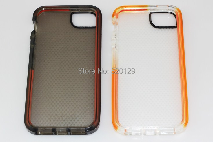 check out 5866c f8939 US $110.47 |50pcs HOT Tech 21 Impact Mesh Protection Case for iphone 5 5G  5S TPU Soft D30 Ultra Thin Back Cover TECH21 Cases No package on ...