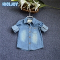2017 Children Clothing For Baby Boy Denim Shirt New Soft And Comfortable Kids Jacket Thin Denim Shirt