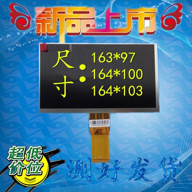 FäHig Freies Verschiffen 7,0 Zoll 164*100 7300101463 7300130906 E231732 Hd 1024*600 Lcd Screen Für Cube U25gt Tablet Pc