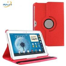 Para N8000 Tableta Caso de 360 Grados Que Giran el Soporte para Samsung Galaxy Note N8010 GT-N8020 10.1 pulgadas Cubierta Protectora + Stylus