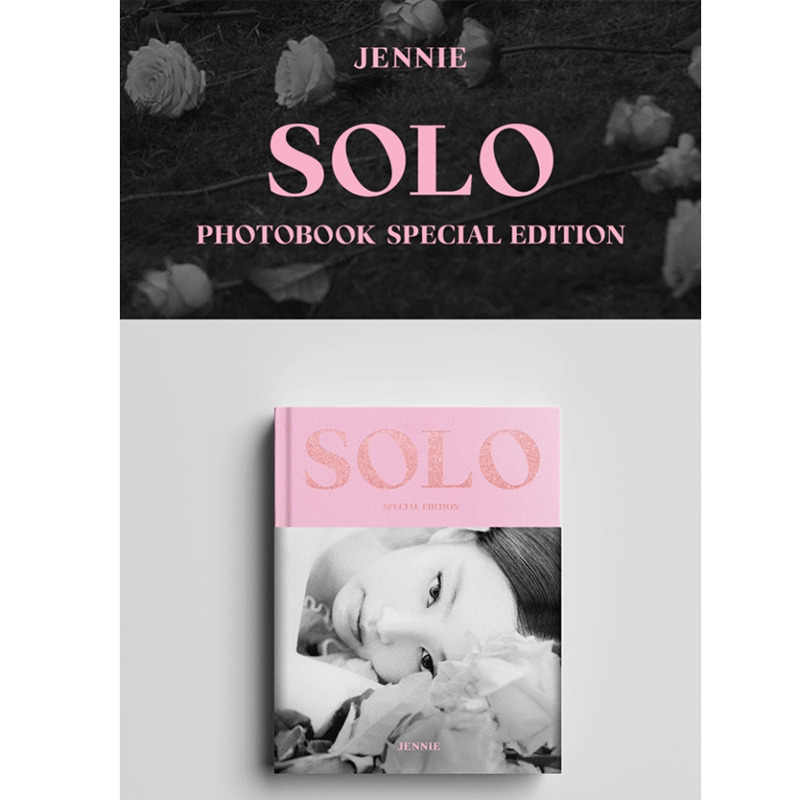 N2721 Blackpink Jennie Solo Book Special Edition Card Postcard Wall Sticker Silk Fabric Poster Art Indoor Decor Bright