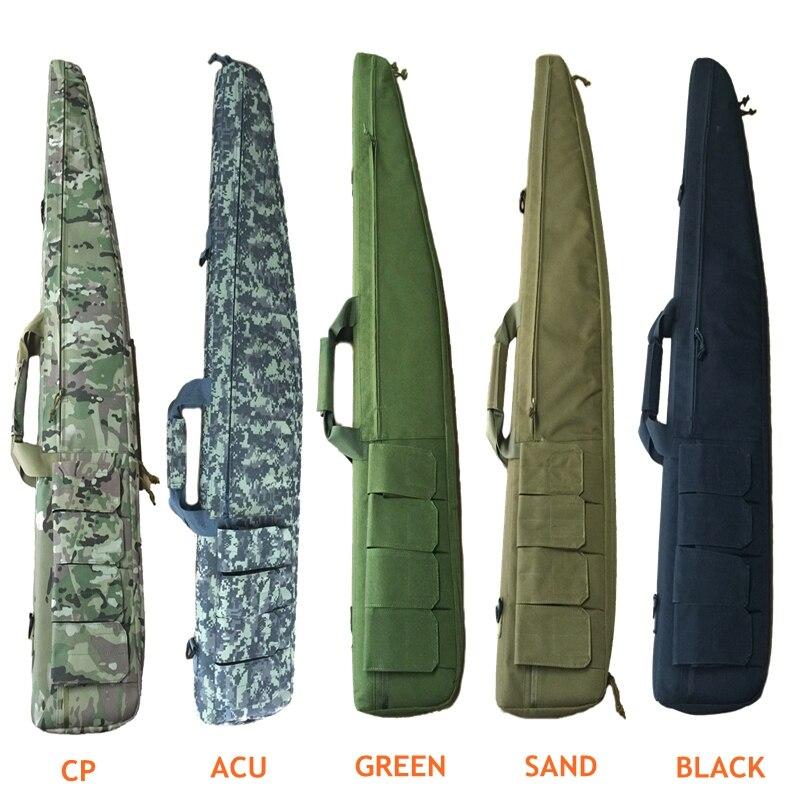 120 cm sac de fusil de chasse en plein air tactique transportant des sacs de pistolet de Combat militaire étui à bandoulière pour le tir