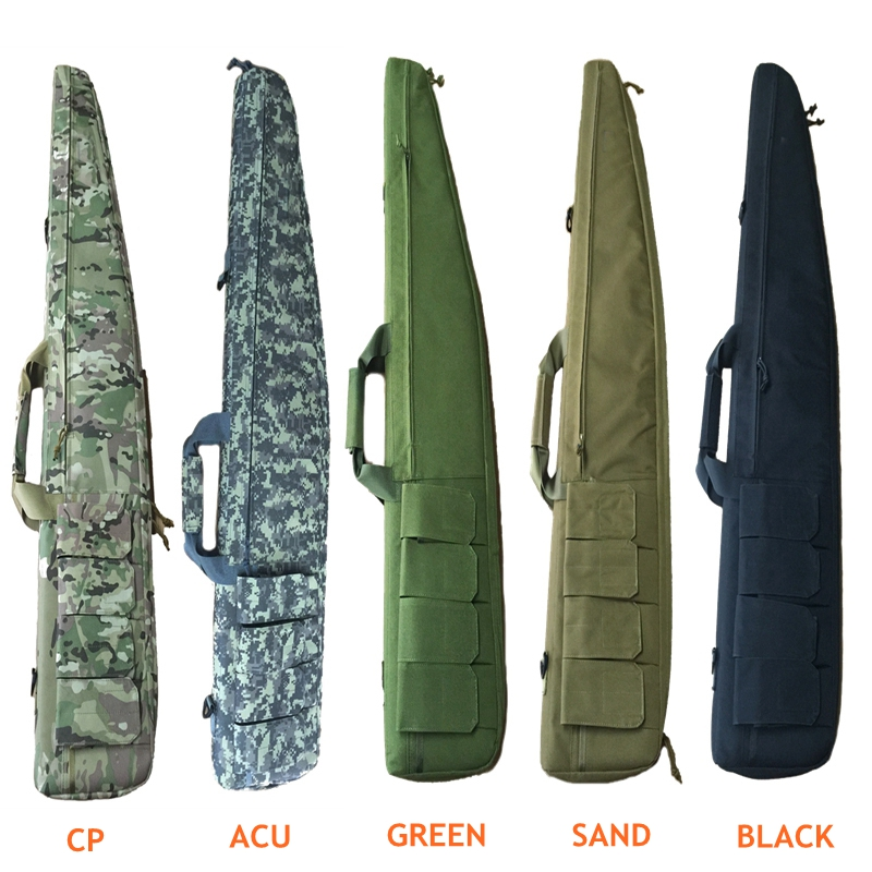120cm Hunting Rifle Bag Outdoor Tactical Carrying Gun Bags Military Combat Gun Shoulder Case For Shooting 47 folding fishing rod bag tactical duel rifle gun carry bag with shoulder strap outdoor fishing hunting gear accessory bag