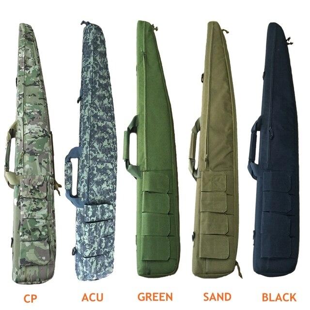 120cm Hunting Rifle Bag Outdoor Tactical Carrying Gun Bags Military Combat Gun Shoulder Case For Shooting