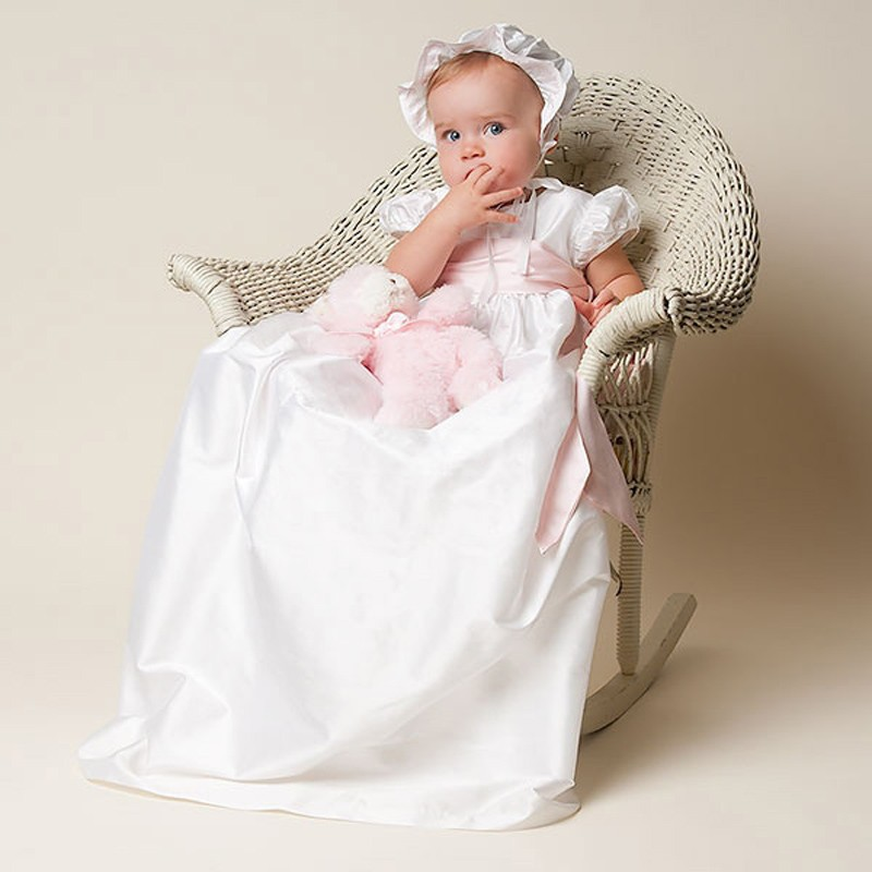Baby Girls Baptism Gown (4)