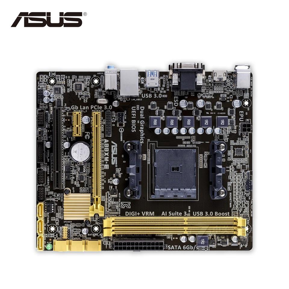 Asus A88XM-E Original Used Desktop Motherboard A88X  Socket FM2 DDR3 32G SATA3 USB3.0 Micro ATX free shipping replacement projector lamp 5j j8805 001 for benq mh740 sh915 sx912 hc1200 sw916 projectors