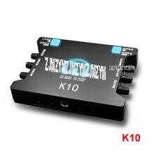 1 шт. K10 внешняя звуковая карта USB AUX Стерео адаптер 2 канала Интерфейс конвертер наушники микрофон для компьютера ноутбук 1,5 Вт