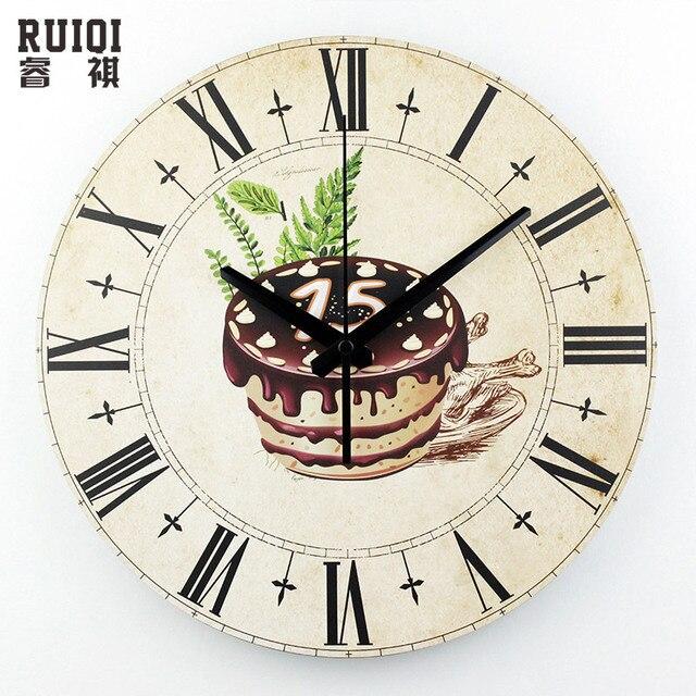 Comprar cocina de pared decorativos reloj - Relojes decorativos pared ...