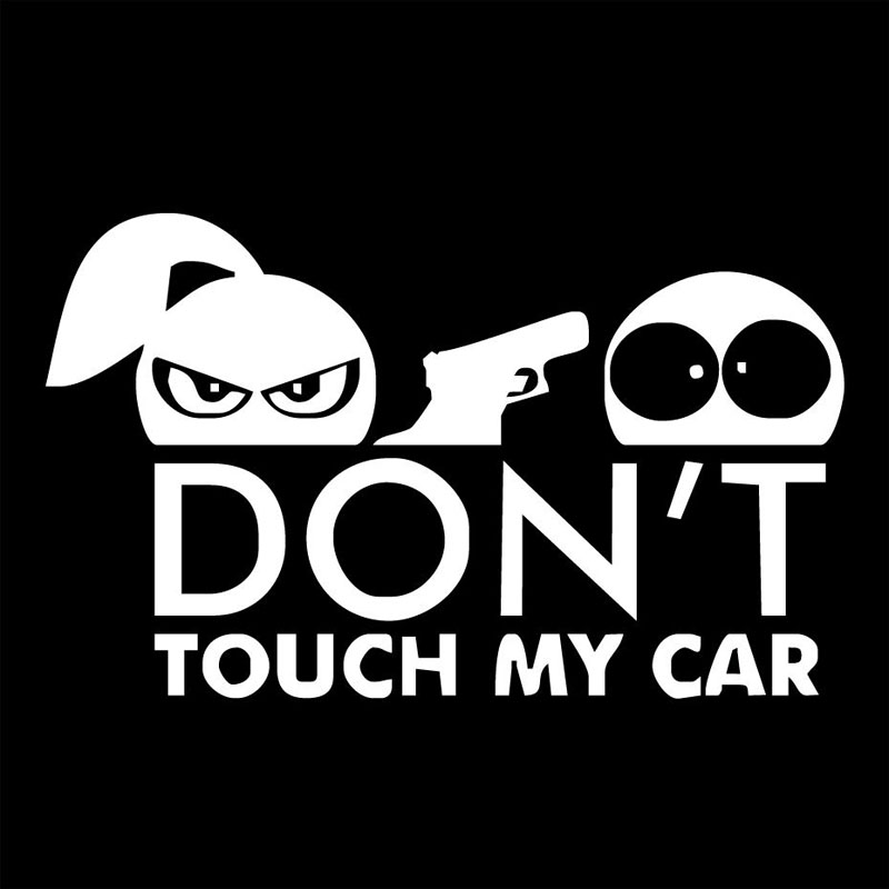Aliexpresscom  Buy XCM DONT TOUCH MY CAR Boy And Girl Funny - Vinyl decals for my car