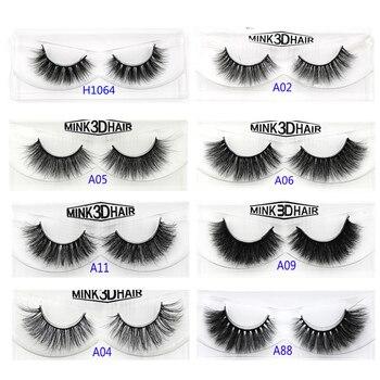 YOKPN Quality Mink False Eyelashes Messy Curl Thick Soft Fake Eyelashes Fashion Smoke Banquet Makeup Mink Eye Lashes  A11
