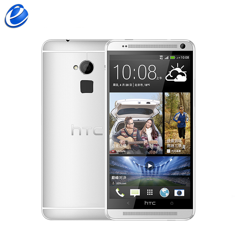 Original Unlocked HTC One Max Android mobiele telefoon 5.9 inch touch screen 2 GB/32 GB Quad-core 3G & 4G lte 4MP WIFI GPS mobiele telefoon title=