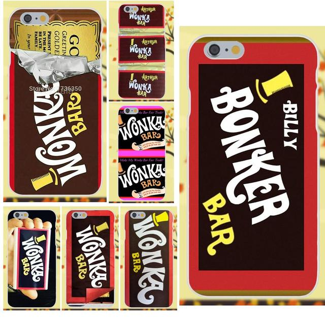 Salvestro 2017 Willy Wonka Bar With Golden Ticket For Apple Iphone 4