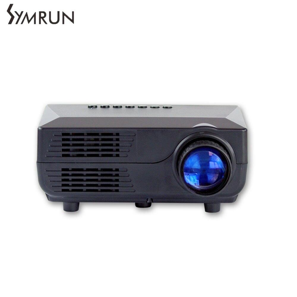 ФОТО Symrun Led Projector 400Lumens Full HD projeksiyon Mini Pico portable Projector Home Theater multimedia projector VS311