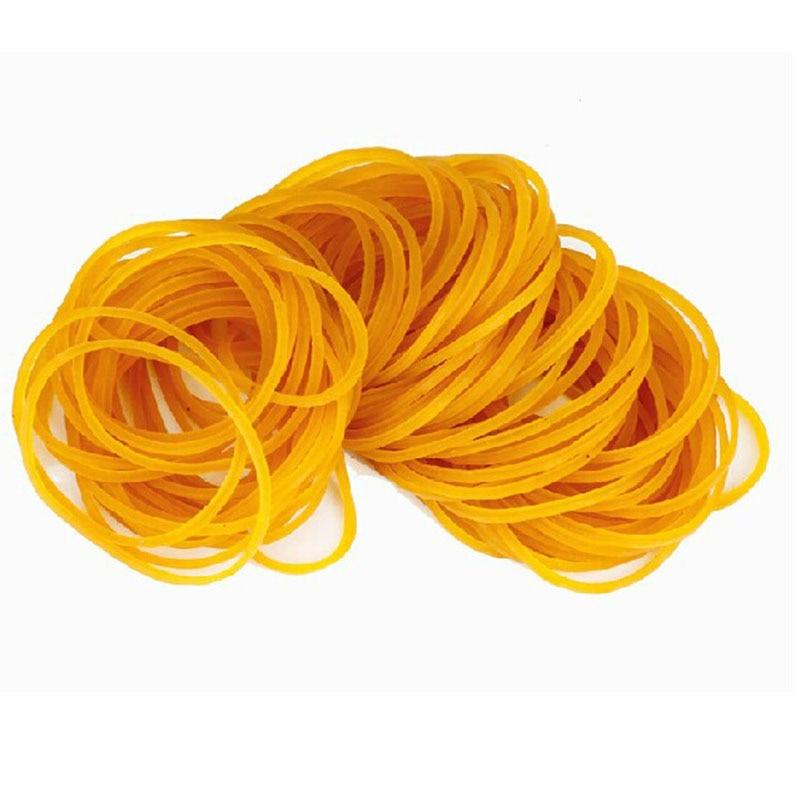 Купить с кэшбэком 100 - 1000pcs/bag 38mm High Quality  Strong  Rubber Bands   Elastic Rubber Office Stationery Holder  School Office Supplies