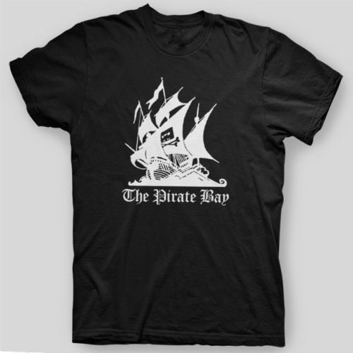 2018 Short Sleeve Cotton T Shirts Man Clothing Pirate Bay Mininova Torrent Demonoid Napster Nerd T-Shirt Sizes S To 3XL