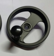 (Scale: 180) Diameter:100mm inner hole:12mm  Aluminium alloy Machine handwheel