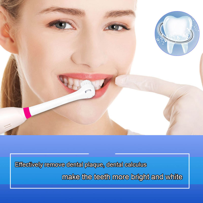 Rotary Battery Operated Electric Toothbrush with 2 Brush Heads Oral Hygiene Health Products No Rechargeable Tooth Brushes G00 2pcs philips sonicare replacement e series electric toothbrush head with cap