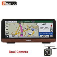 Bluavido 8 Inch 4G Android GPS Navigation Dash cam ADAS Full HD 1080P Car DVR Camera Auto Video Recorder Bluetooth WiFi monitor