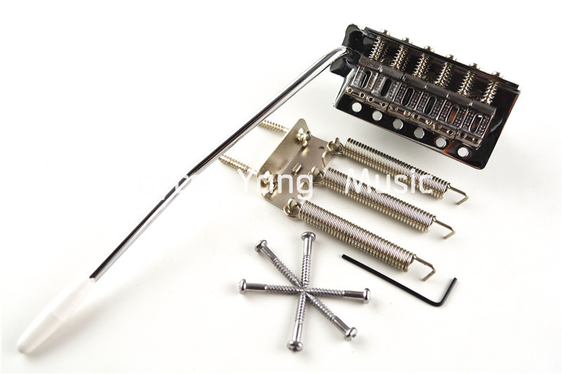 Vintage Electric Guitar Bridge Tremolo Bridge System For Strat Style Electric Guitar Free Shipping yibuy free shipping gold tremolo bridge set for electric guitar