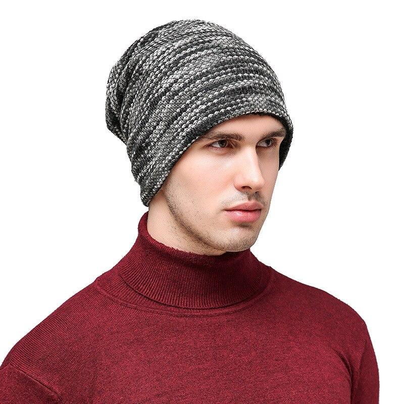 2017 Winter hats women skullies Beanies Warm Fashion Knitting Hat Men Fashion knitted Outdoor Wool Fleece Cap hot sale caps echo657 new fashion men women knitting wool skullies pile folds tide beanies hat dec 22