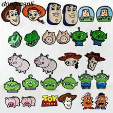 F59 2018 New Arrival Cartoon Toys Woody Buzz Lightyear Ear Rings Earrings Jewelry Girl Women Kids Party Birthday Gift