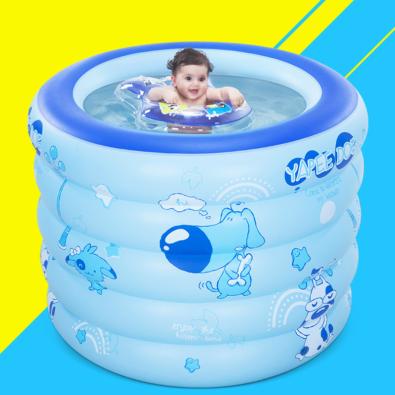 Thicker Deluxe High Quality Children Baby Swimming Pool Large Inflatable Swimming Pool Water Playing Pool C01 popular best quality large inflatable water slide with pool for kids
