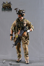 Crazy Dummy 78002 US Army Ranger MK46MOD0 Machine Gunman In Afghanistan 12 Collection Figure Doll Toys